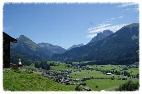Sommerhütte Schoppernau, Sommerferien Ferienhütte Kohlerhalde, Sommerwanderung Au/Bregenzerwald